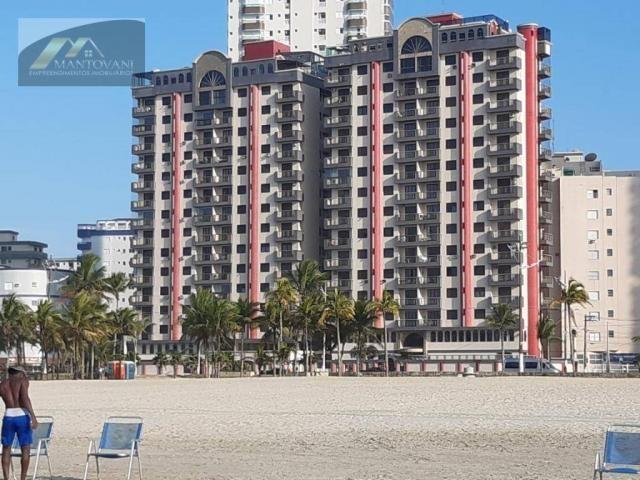 Apartamento com 2 dormitórios à venda, 77 m² por R$ 380.000,00 - Guilhermina - Praia Grand