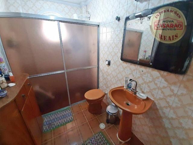 Apartamento com 3 dormitórios à venda, 115 m² por R$ 320.000 - Tupi - Praia Grande/SP - Foto 16