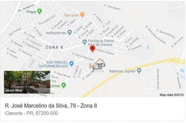 Casa com 3 dormitórios à venda, 70 m² por R$ 94.703,86 - Jardim Vitória - Cianorte/PR - Foto 6