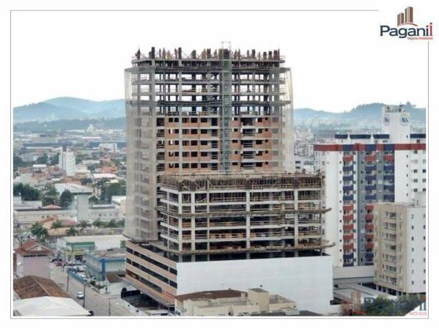 Apartamento com 3 dormitórios à venda, 126 m² por R$ 817.000,00 - Centro - Palhoça/SC - Foto 3