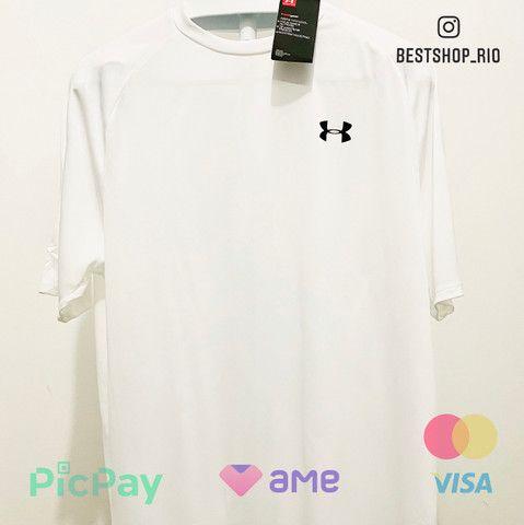 Camisa Under Armour Branca