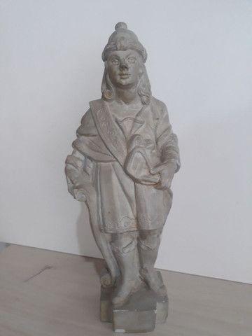 Profeta Baruc em pedra sabão