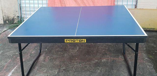 Mesa de tênis de mesa oficial.  - Foto 2