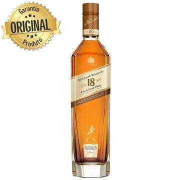 Whisky Johnnie Walker Gold Ultimate 18 Anos. Original
