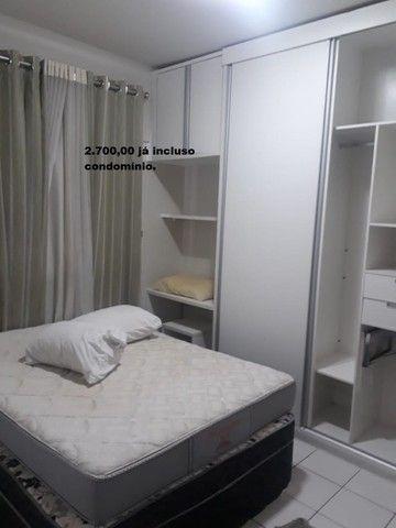Apartamento com 2 quartos sendo 1 no Aleixo 100% mobiliado.,,;,//- - Foto 6