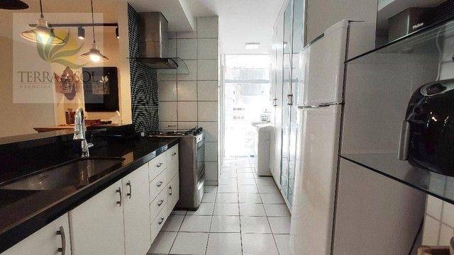 Apartamento com 3 dormitórios à venda, 80 m² por R$ 495.000,00 - Cocó - Fortaleza/CE - Foto 8