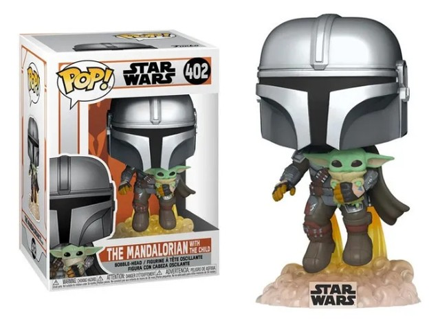 Funko Pop Star Wars The Mandalorian with the Child 402 - Foto 2