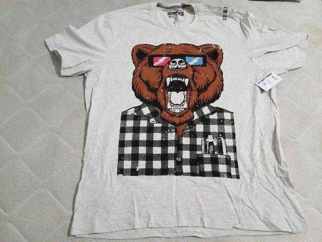 5 Camisetas Masculinas GG  - Foto 4
