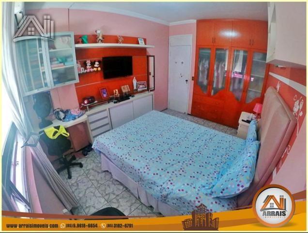 Apartamento à venda, 117 m² por R$ 370.000,00 - Vila União - Fortaleza/CE - Foto 10