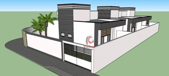 Casa linear com 2 dormitórios à venda, 62 m² Terra Firme - Rio das Ostras/RJ - Foto 2