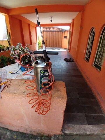 Pulverizador Inox Guarany 8 litros com kit.