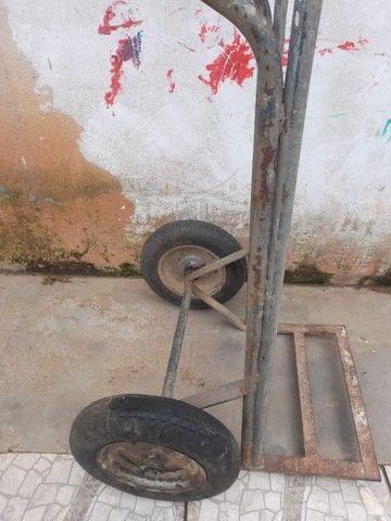 Carrinho de carga  200kg / 340,00aceito propostas! - Foto 4