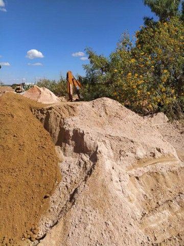 Areia média e fina lavada - FX FORNECEDORA - Foto 2