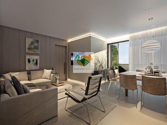 Novos apartamentos de luxo com 3 e 4 quartos à venda no bairro Funcionários em BH - Foto 9