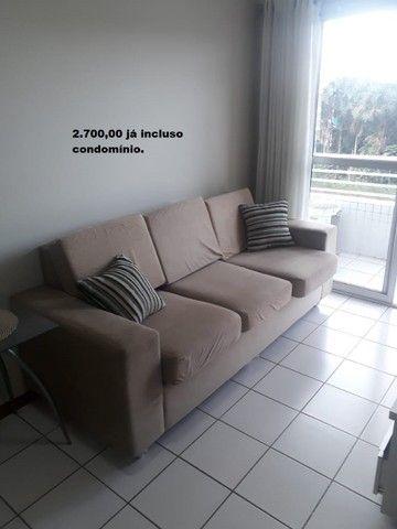Apartamento com 2 quartos sendo 1 no Aleixo 100% mobiliado.,,;,//- - Foto 17