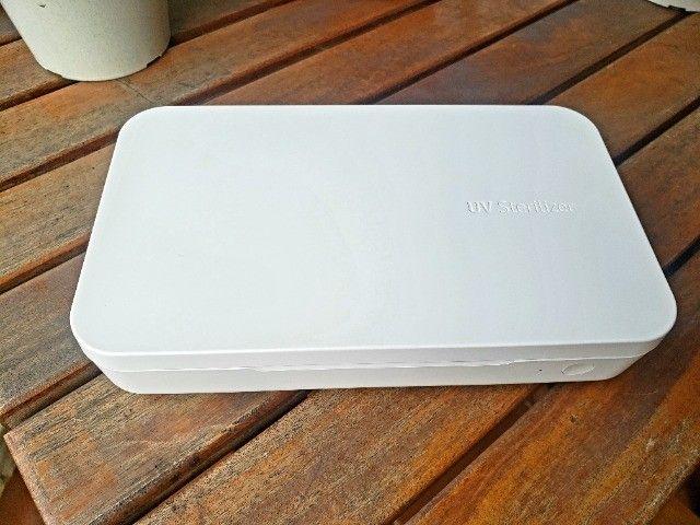 Esterilizador Samsung Uv e Carregador Sem Fio Elimina 99%. - Foto 2