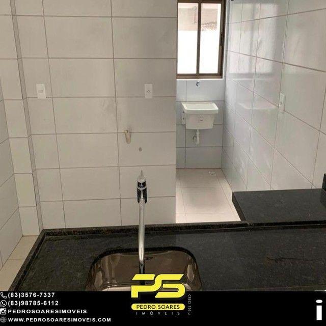 Apartamento com 2 dormitórios à venda, 50 m² por R$ 195.000 - Bancários - João Pessoa/PB - Foto 10