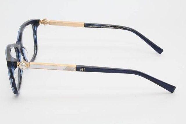 Óculos Armação com Lente Ana Hickman Usado  - Foto 3