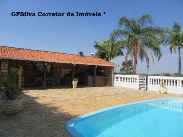 Chácara 1.500 m2 Condominio Fechado Casa 3 dorm. píscina Ref. 453 Silva Corretor - Foto 8