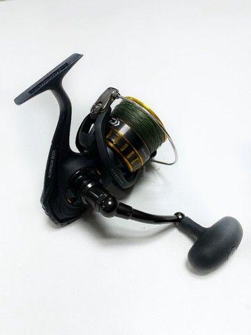 Molinete Pesca Daiwa Bg 5000 - 7 Rolamentos - Drag: 10kgs