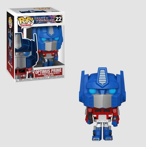 Funko Pop Transformers Optimus Prime 22