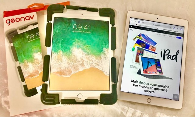 iPad 9.7 Apple (Wi-Fi) 32GB Câmera 8MP Dourado - Foto 6