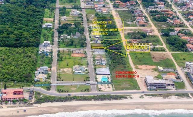 Loteamento/condomínio à venda em Balneário south beach i, Itapoá cod:139291