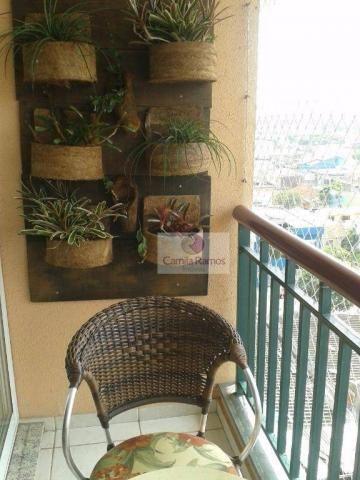 Apartamento residencial à venda, conjunto residencial irai, suzano. - Foto 14