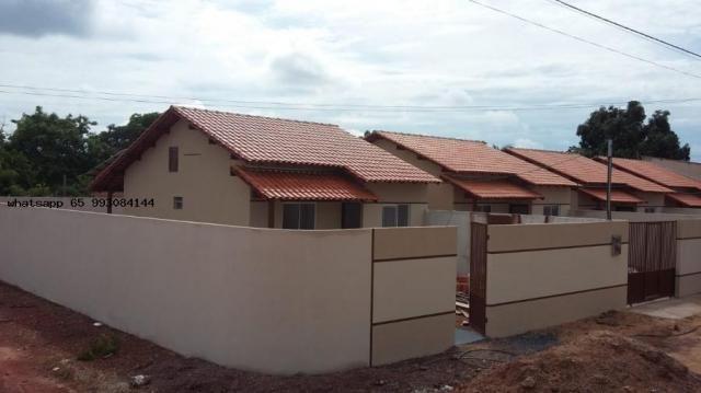 Casa para venda em várzea grande, novo mundo, 2 dormitórios, 1 banheiro, 4 vagas - Foto 6