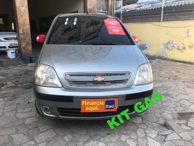 Chevrolet Meriva 1.4 8v flex Couro (Queima de estoque) + kit gas
