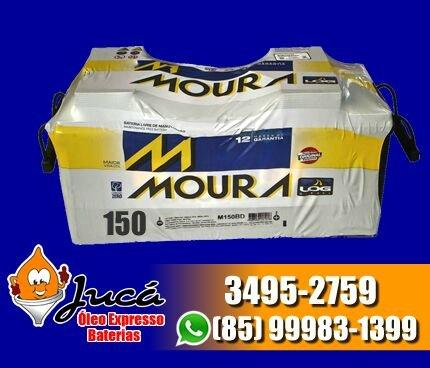 Bateria moura 150 ah com uma mega oferta!!!! confira