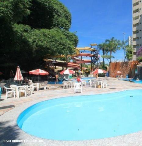 Flat para temporada em caldas novas, golden dolphin grand hotel, 1 dormitório, 1 suíte, 1  - Foto 10