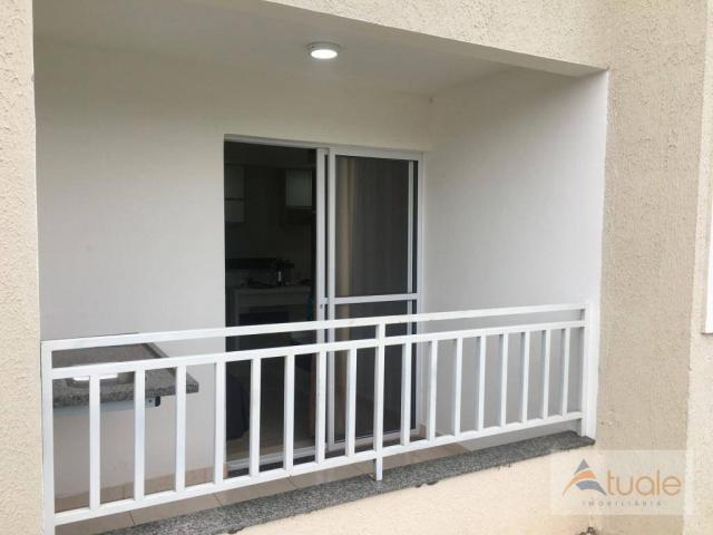Apartamento com 2 dormitórios à venda, 59 m² - jardim santa rita i - nova odessa/sp - Foto 17