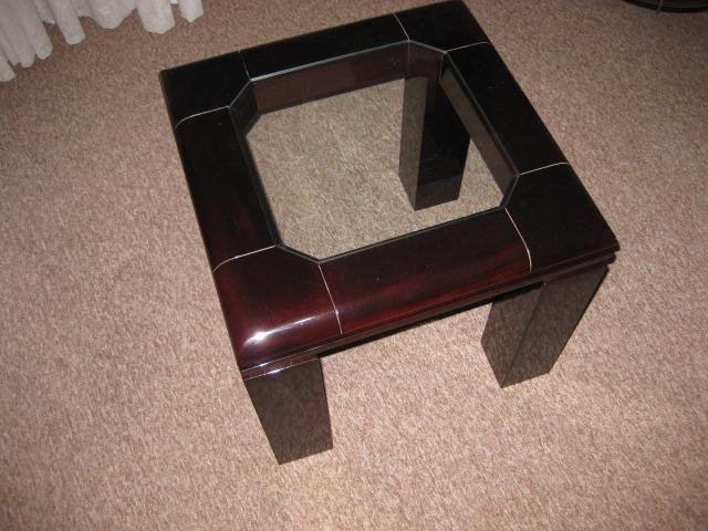 Mesa de Centro + mesa de canto/apoio em Laca - Foto 6