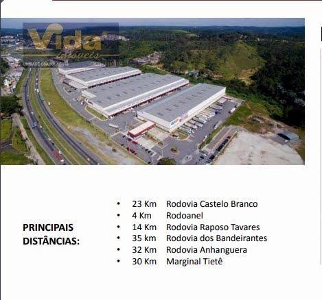 Galpão/depósito/armazém para alugar em Água espraiada, Embu das artes cod:41255 - Foto 3