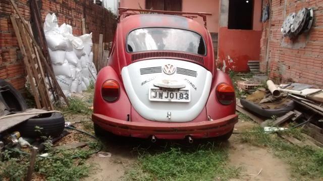 Fusca volkswagen-vermelho - Foto 3