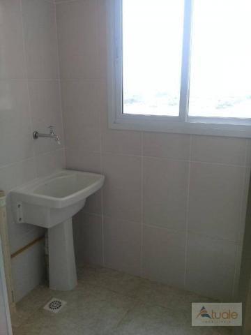 Apartamento com 2 dormitórios à venda, 59 m² - jardim santa rita i - nova odessa/sp - Foto 5