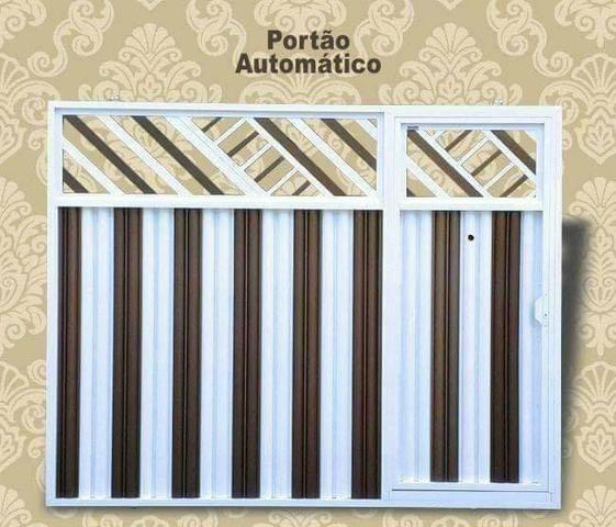 Portões de alumínio de todos os modelos - Foto 6