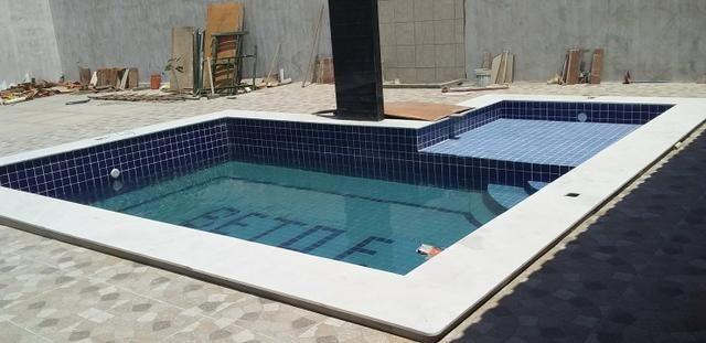 Construção de piscinas!