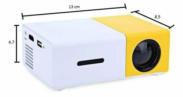 Mini Projetor Portátil Full Hd Led 600 Lumens