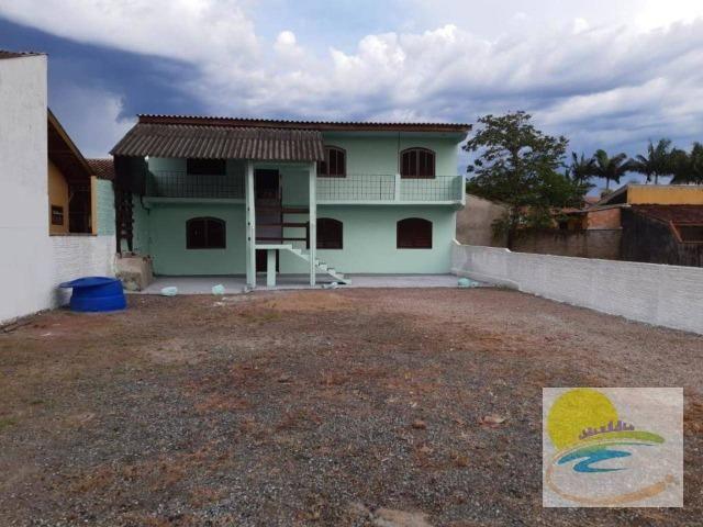 Casa com 2 dormitórios para alugar, 60 m² por R$ 450/dia - Brasília - Itapoá/SC - Foto 2