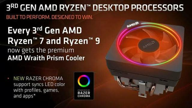 CPU Cooler AMD Wraith Prism RGB - AM4 - Foto 4