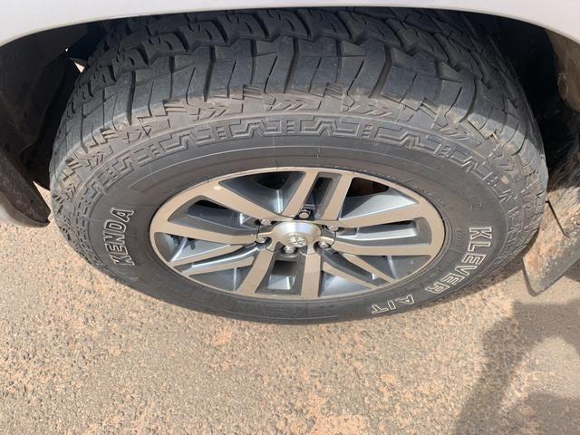 Rodas aro 18 Hilux SRX com pneus