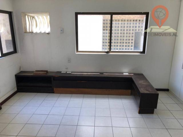 Apartamento com 1 dormitório à venda, 54 m² por R$ 220.000,00 - Jatiúca - Maceió/AL - Foto 4