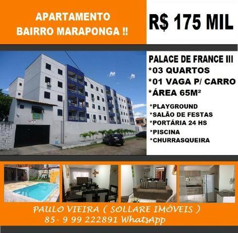 Apartamento na Maraponga Com 03 Quartos e Lazer Completo: Paulo 9  * What