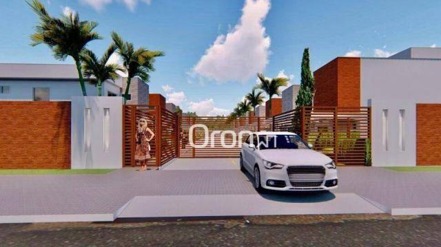 Sobrado com 4 dormitórios à venda, 152 m² por R$ 578.000,00 - Cardoso Continuação - Aparec