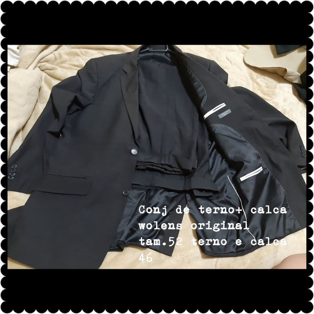Conjunto de terno e blazer com calça  - Foto 3