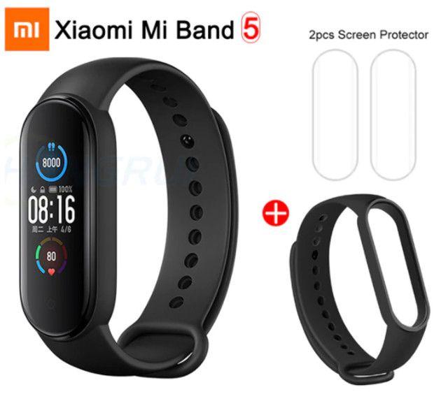 Pulseira Xiaomi Mi Band 5 + Película e Brinde - Foto 3