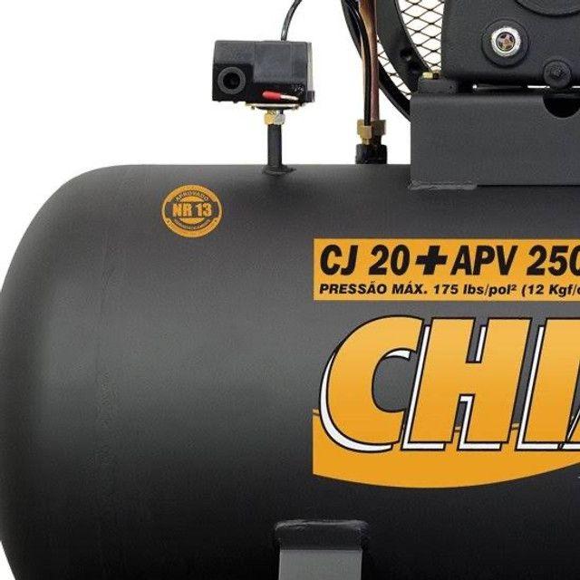 Compressor 20 pes 250 litros 175 psi libras
