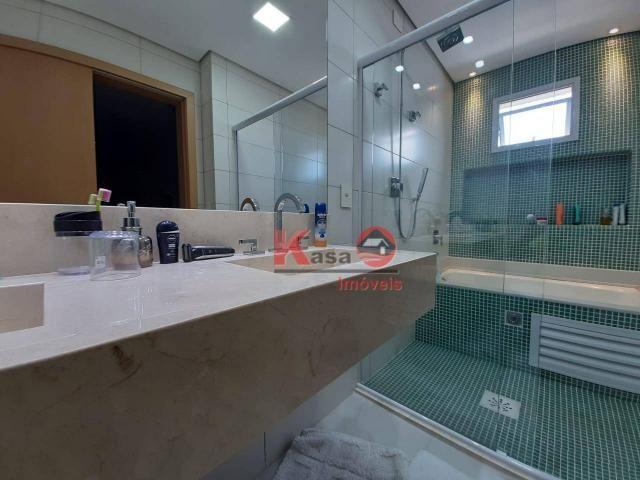 Cobertura com 4 dormitórios à venda, 410 m² por R$ 7.500.000,00 - Gonzaga - Santos/SP - Foto 17